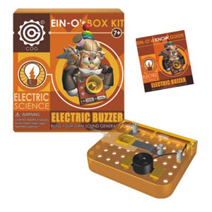 2011-AE6 ELECTRIC BUZZER-ELECTRIC SCIENCE