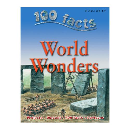 5094-GD2 100 FACTS WORLD WONDERS BOOK