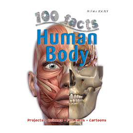 5094-GD4 100 FACTS HUMAN BODY BOOK