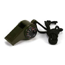 6561-WB1 WHISTLE WITH COMPASS THERMOMETER