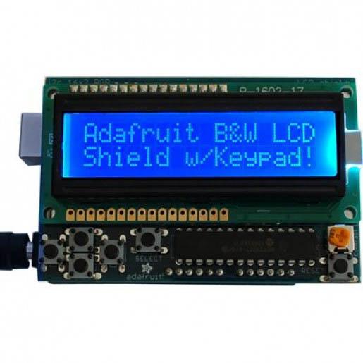 2011-GB23 ADAFRUIT LCD SHIELD KIT FOR