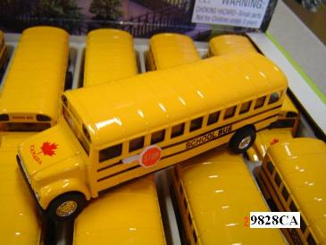 6516-DB1 BUS SCHOOL YELLOW 5 INCH WITH
