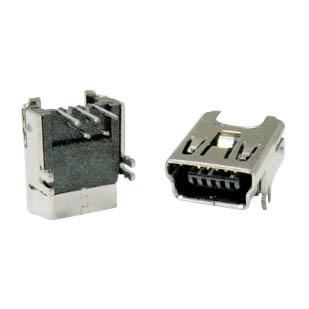 ADN-1081 MINI USB B FEM CONN PCRA