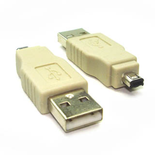 ADN-1109-1 USB ADAPTER A MALE-MINI A MALE