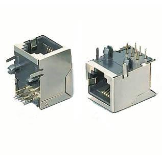 AGAJ-9981A MODULAR JACK 8P8C PCRA SHLD