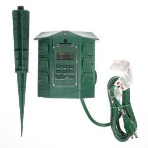 ATG-775 TIMER OUTDOOR DIGITAL W/POWERBAR