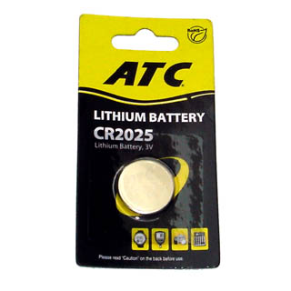 BCT-217-1 BATTERY LITHIUM 3V CR2025