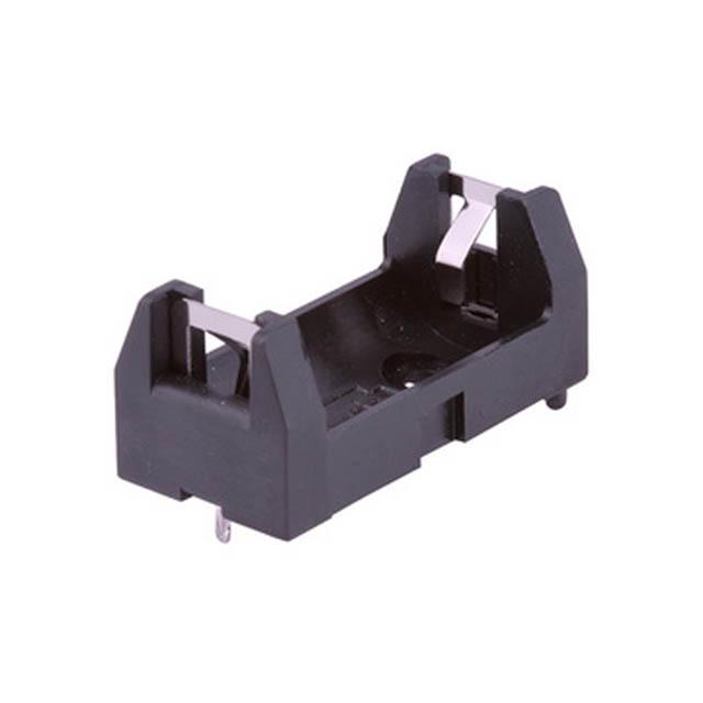 BFG-2114-1 BATTERY HOLDER AA 1/2 SIZE PLAST