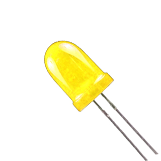 BRTG-3121-3 LED5 12V DIFF YEL 32MCD 10MA