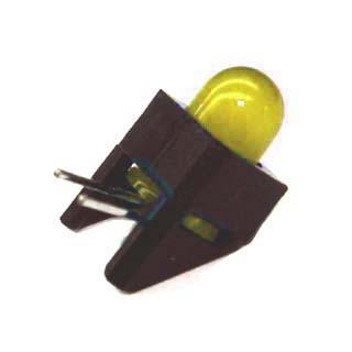 BSQK-3115-1 LED5 HOUS YEL 1LED PCRA 6.3MCD