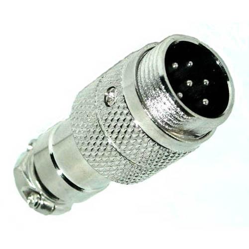 GBT-287 MICROPHONE 6M INLINE JACK METAL