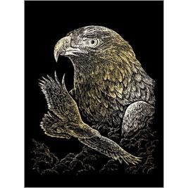 5511-BD11 GOLD ENGRAVING EAGLES