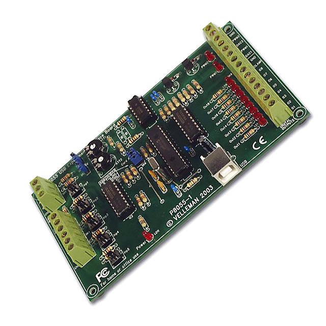 2091-FE1 USB EXPERIMENT INTERFACE BOARD