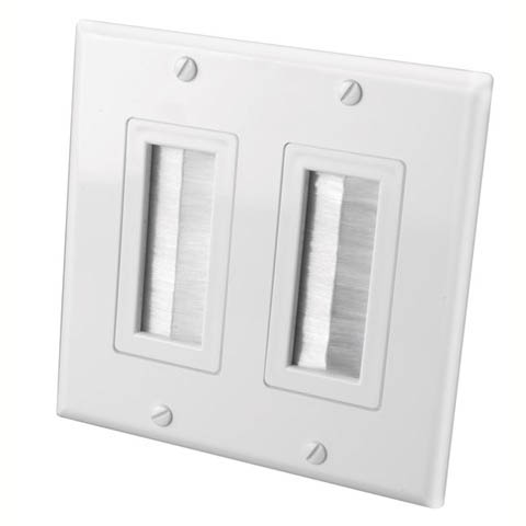 KFN-451 WALL PLATE FOR BULK CABLE DECORA