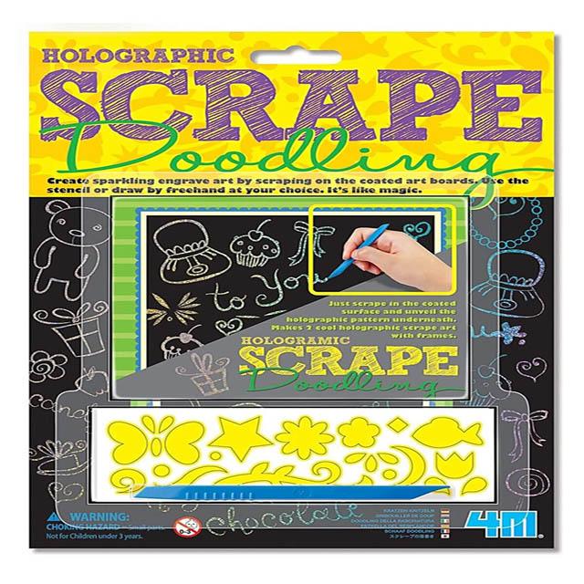 5520-HC1 SCRATCH ART-HOLOGRAPHIC SCRAPE