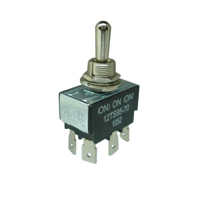 SANH-5223 TOGGLE SWITCH 2P2T (ON)-ON-(ON)