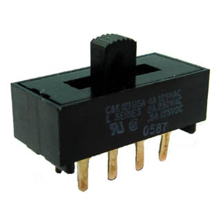 SMH-674-1 SLIDE SWITCH 2P3T ON-ON-ON PCST