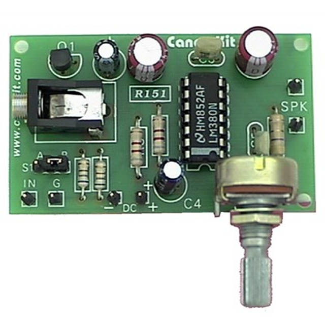 2015-GF4 MIC AMP - 5W USING IC - ASSLD