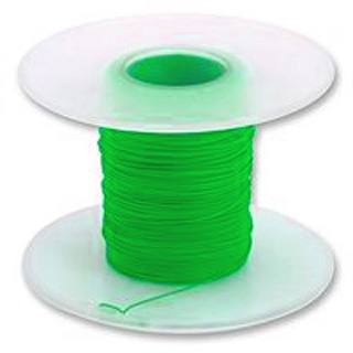 WBH-1393 WW WIRE AWG30 SOLID GREEN 50FT