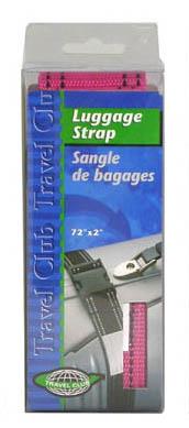 YBAF-2323 LUGGAGE STRAP ASSORTED COLOR