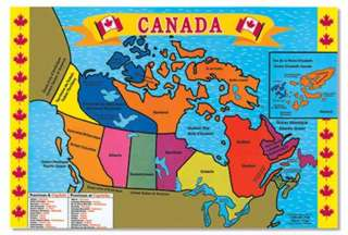 SAYAL PUZZLES AND BRAIN TEASERS AM - Canada map puzzles